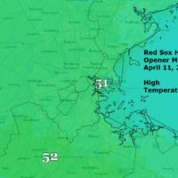 High Temperature Monday April 11th 2016