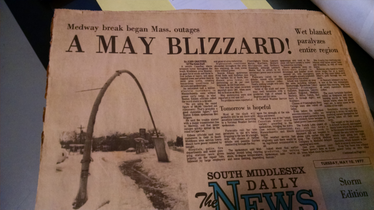 ay 10th 1977 South Middlesex Daily News