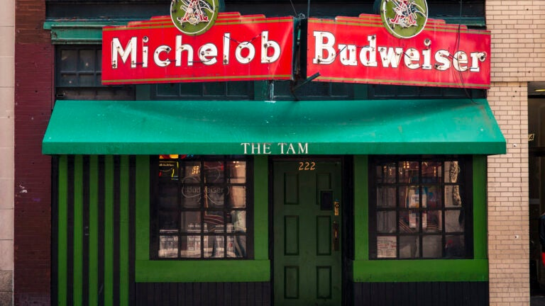 The Tam in the South End, one of the most popular Boston dive bars.