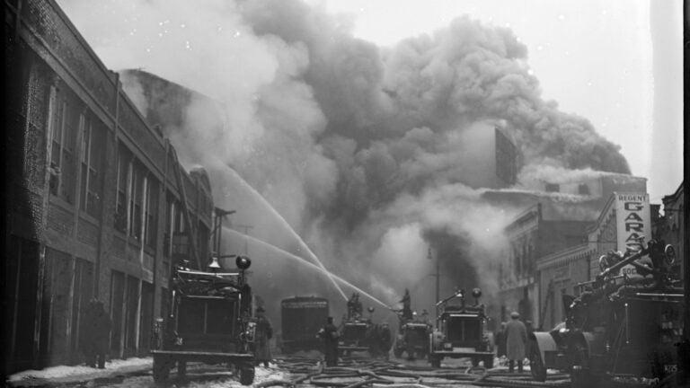 Fenway Park fire 1934