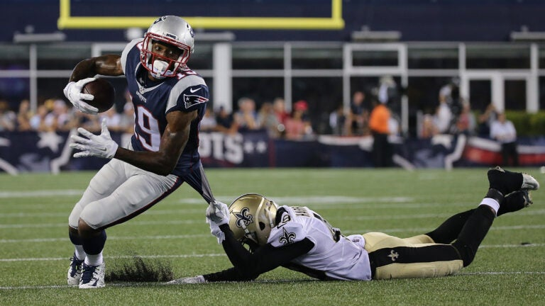 Malcolm Mitchell during the 2016 season.
