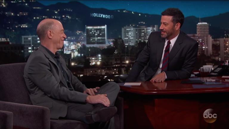 JK Simmons and Jimmy Kimmel.