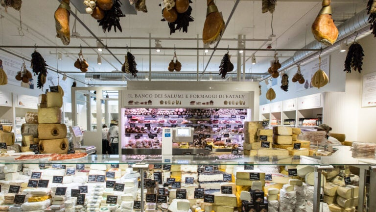 One of the shops at Eataly Chicago.