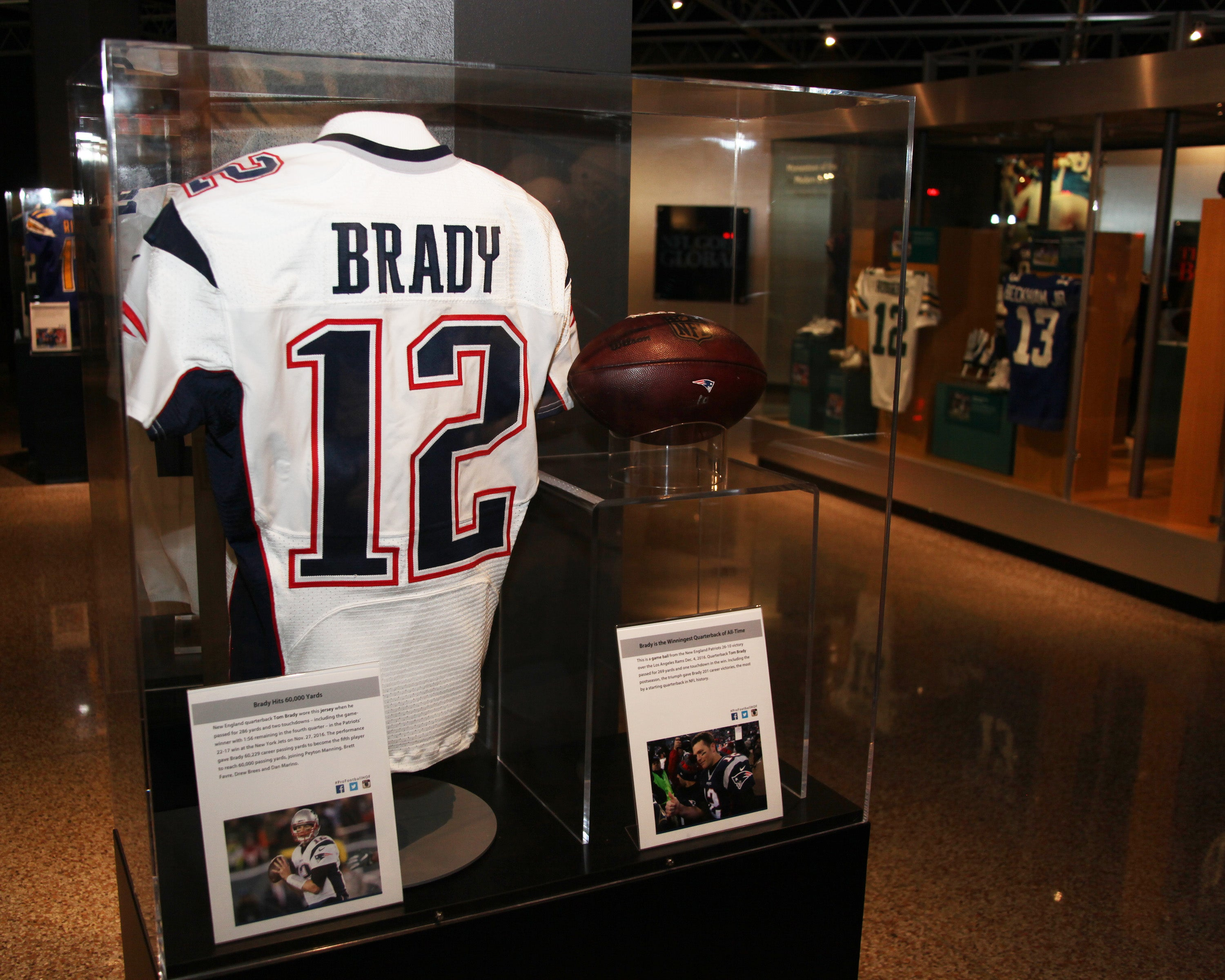 Tom Brady's record-breaking 2016 season is now being featured in ...