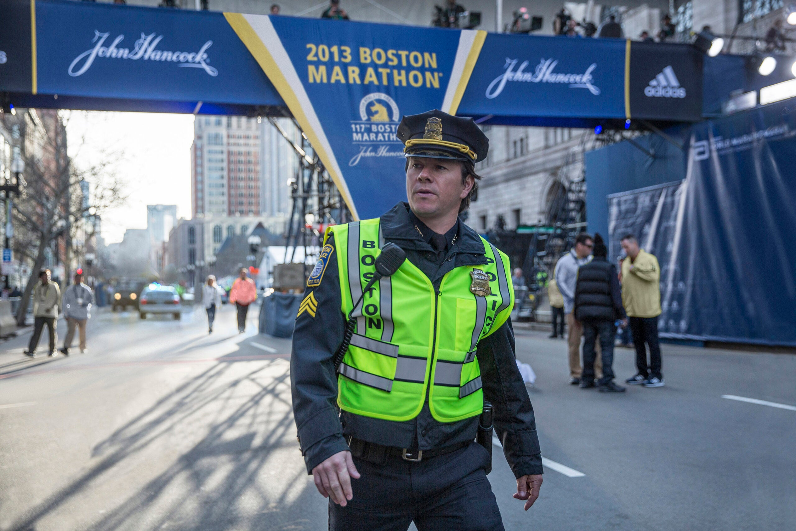 Mark Wahlberg in 'Patriots Day.'