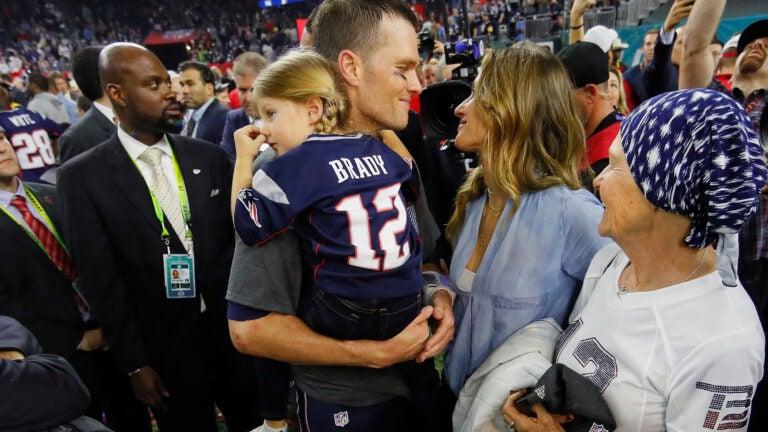Tom Brady Gisele Super Bowl
