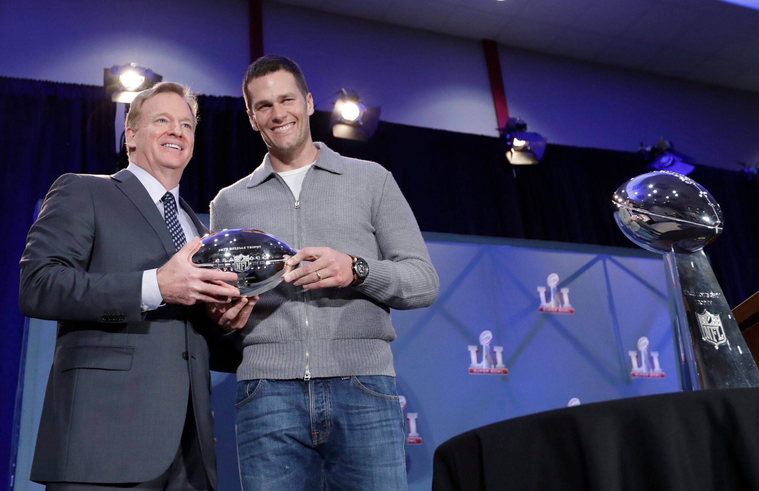 Brady and Goodell