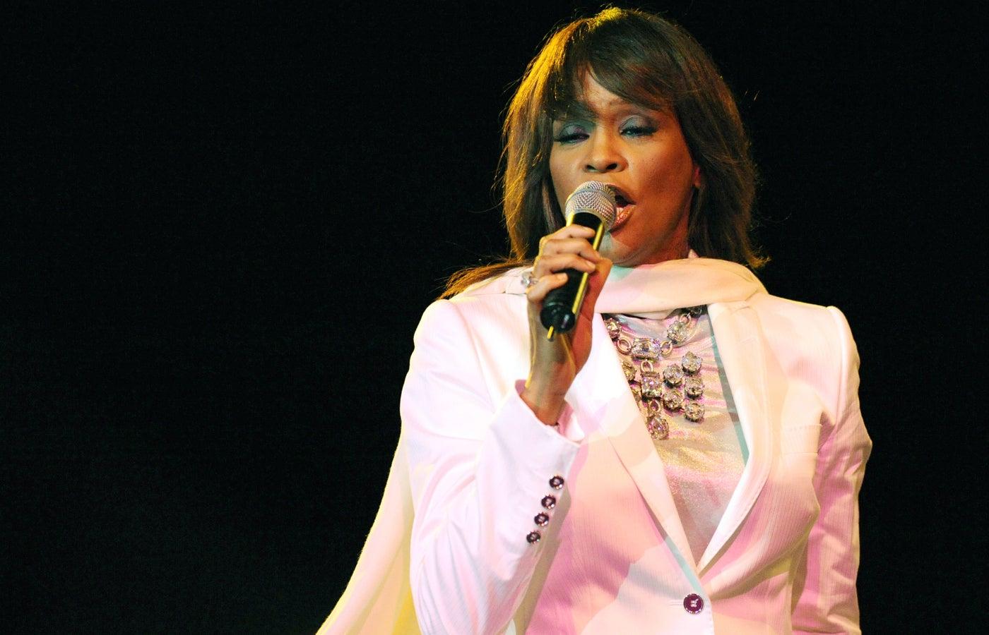 Singer Whitney Houston.