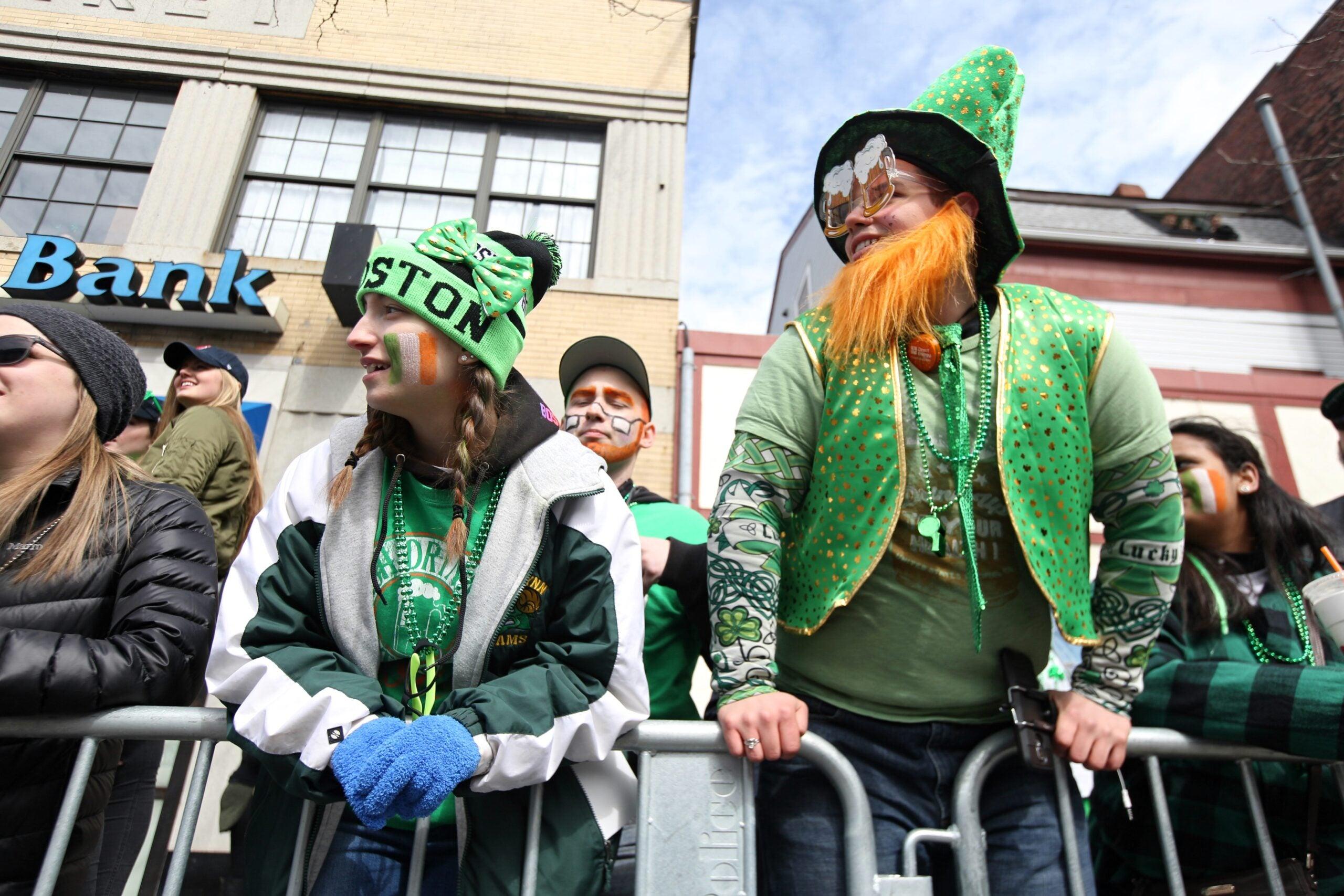 St. Patrick's Day Parade in Boston