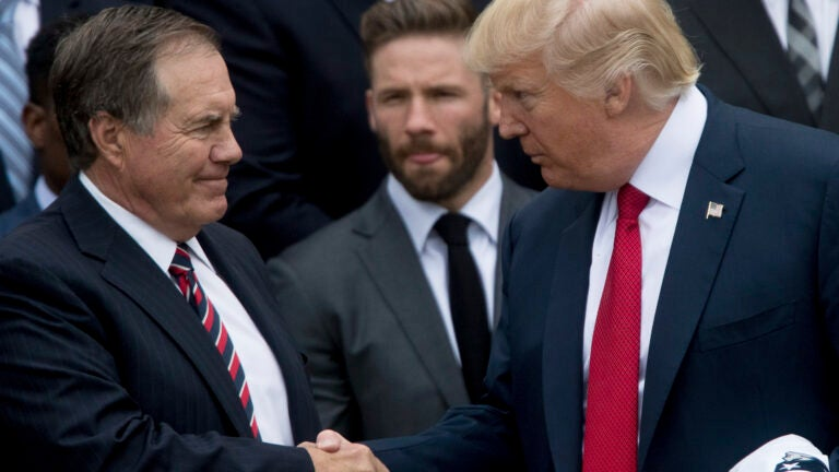 Belichick Trump medal of freedom offer