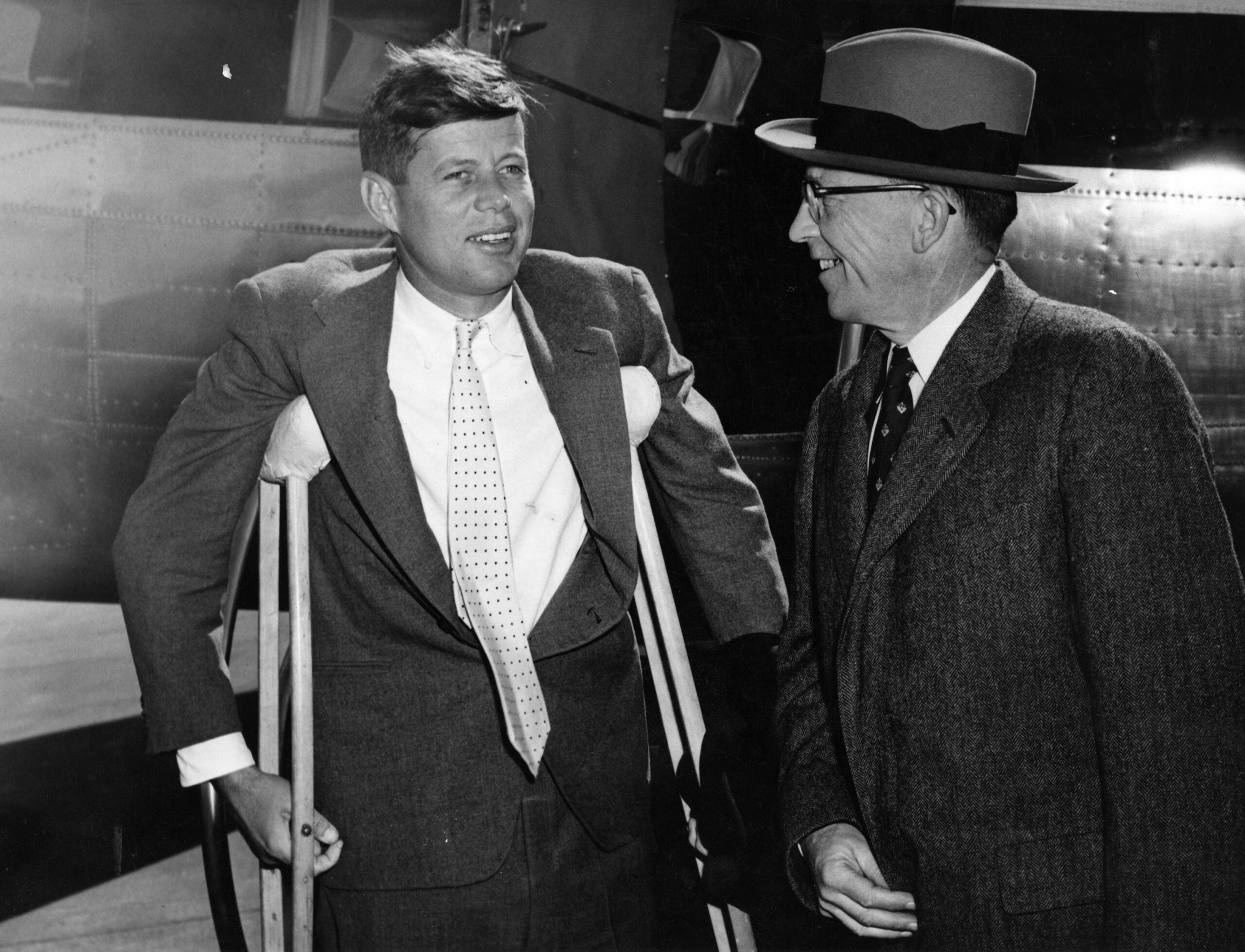 JFK had 5 brushes with death before that open-air Dallas car ride