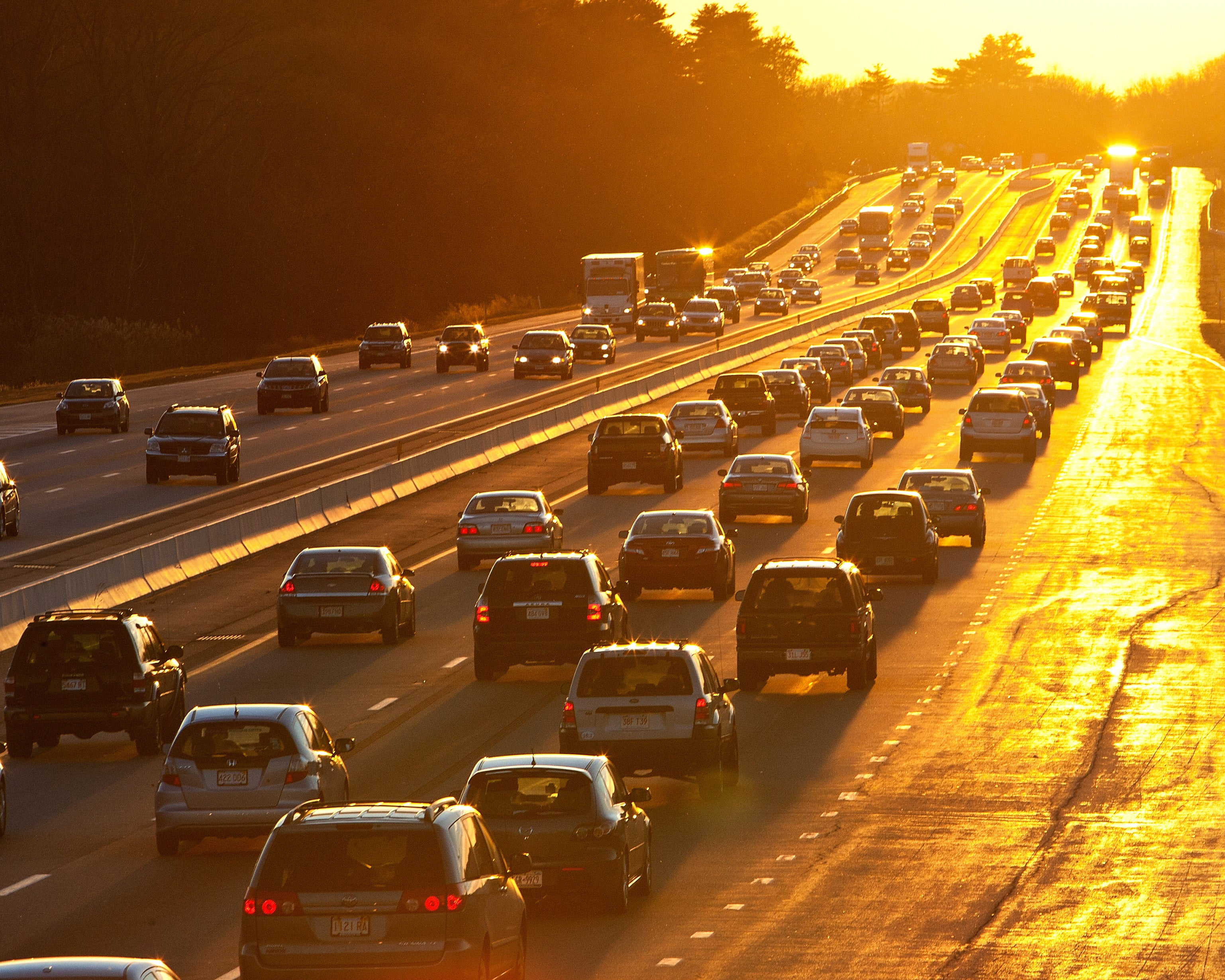Boston Traffic I-90