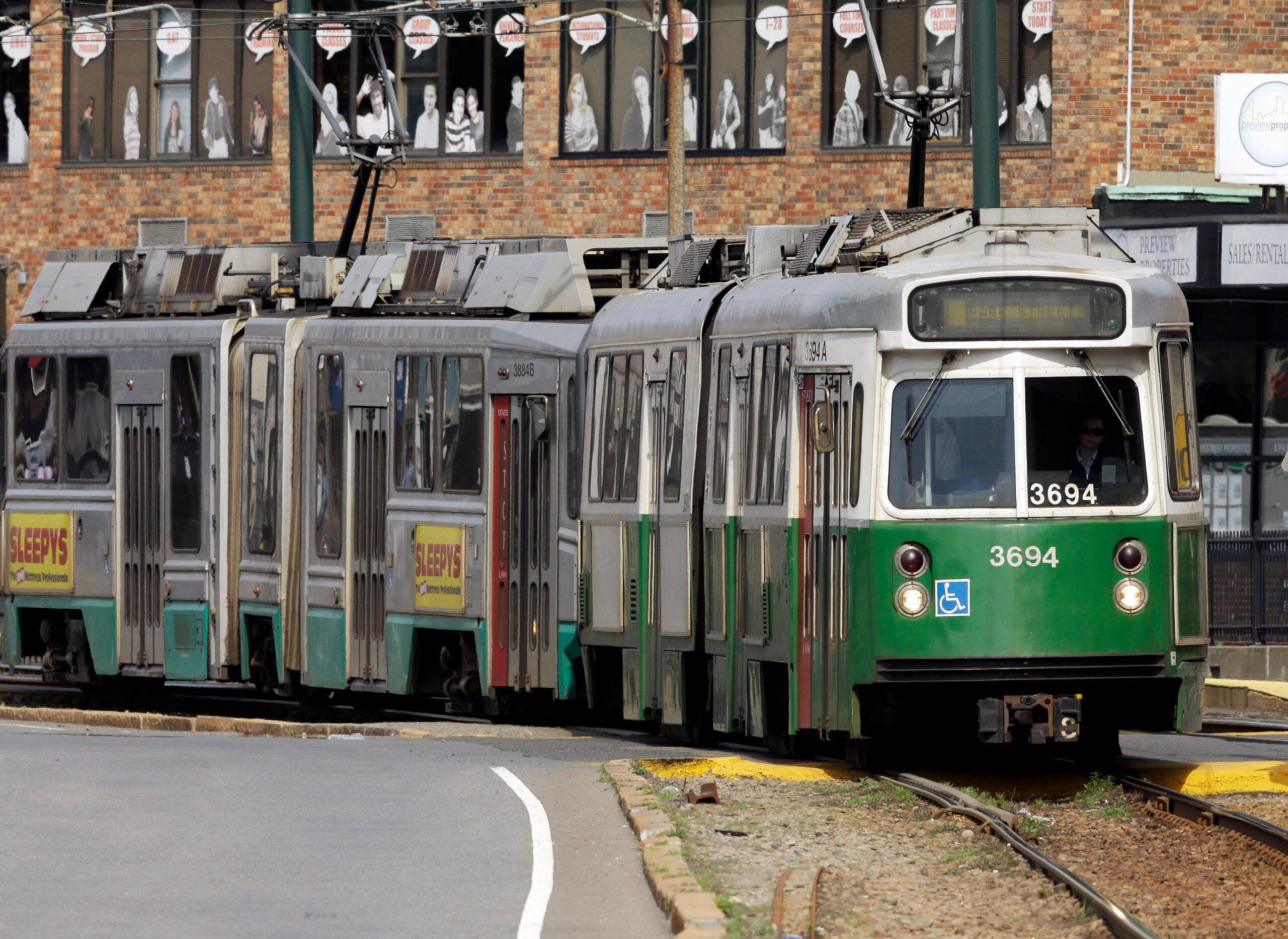 Green-Line-Train