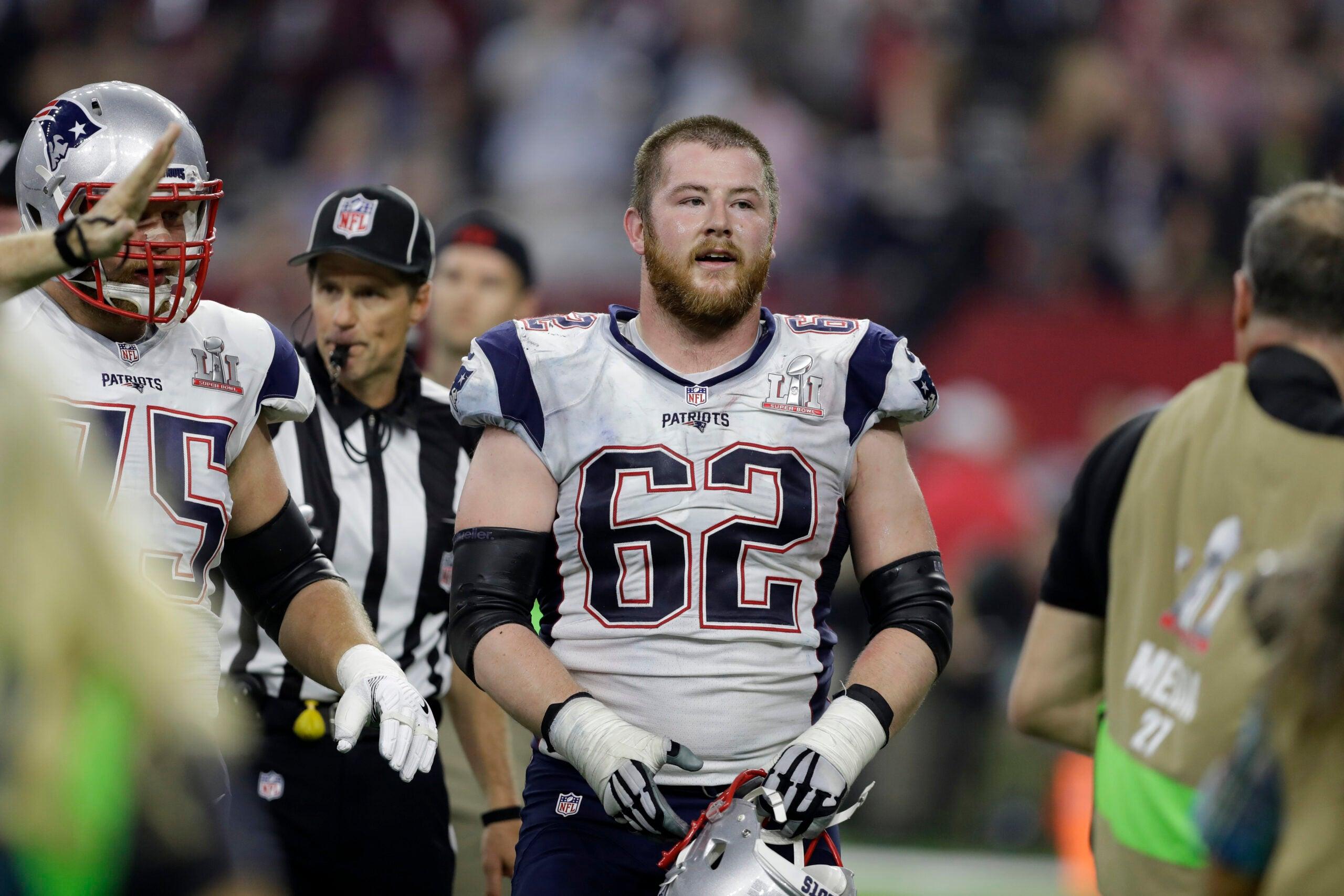 Joe Thuney Patriots Lineman NFL