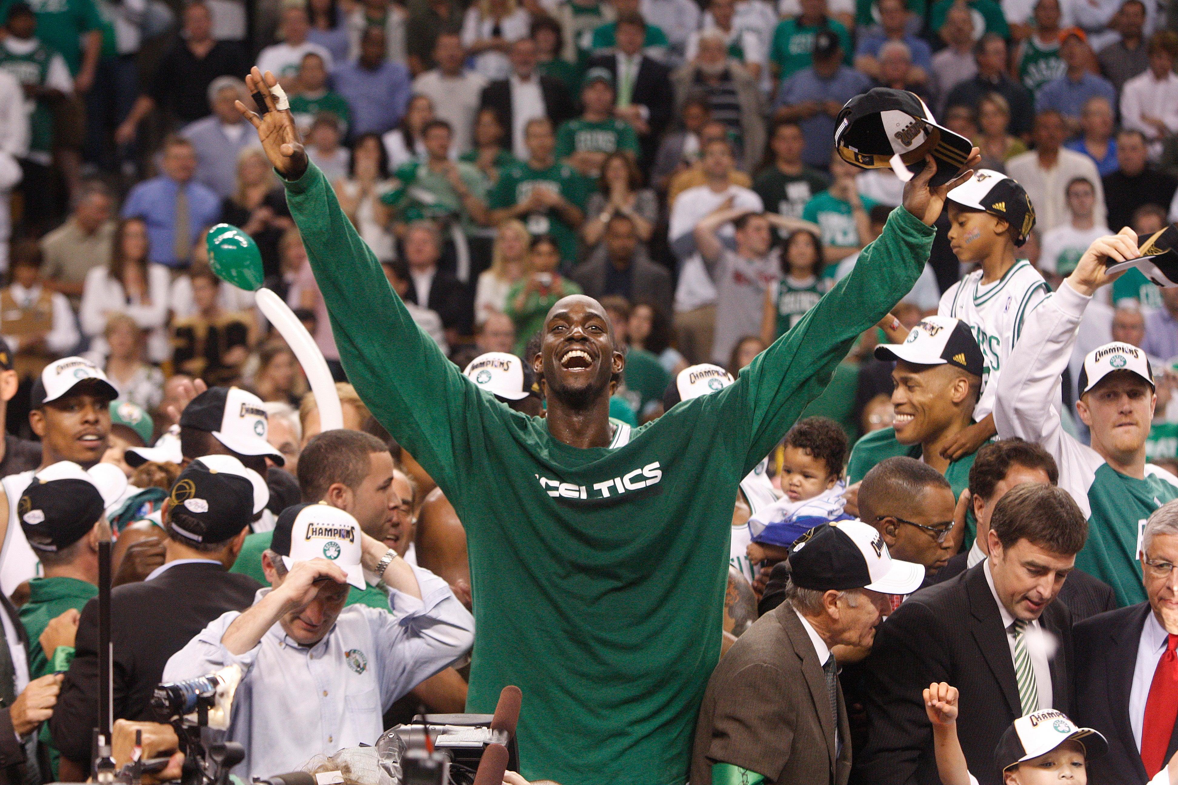 Kevin Garnett Boston Celtics