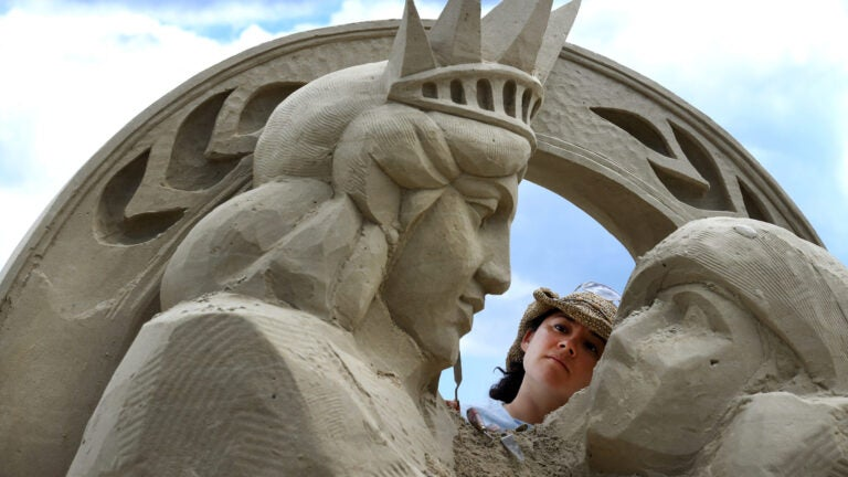 2017 Revere Beach International Sand Sculpting Festival