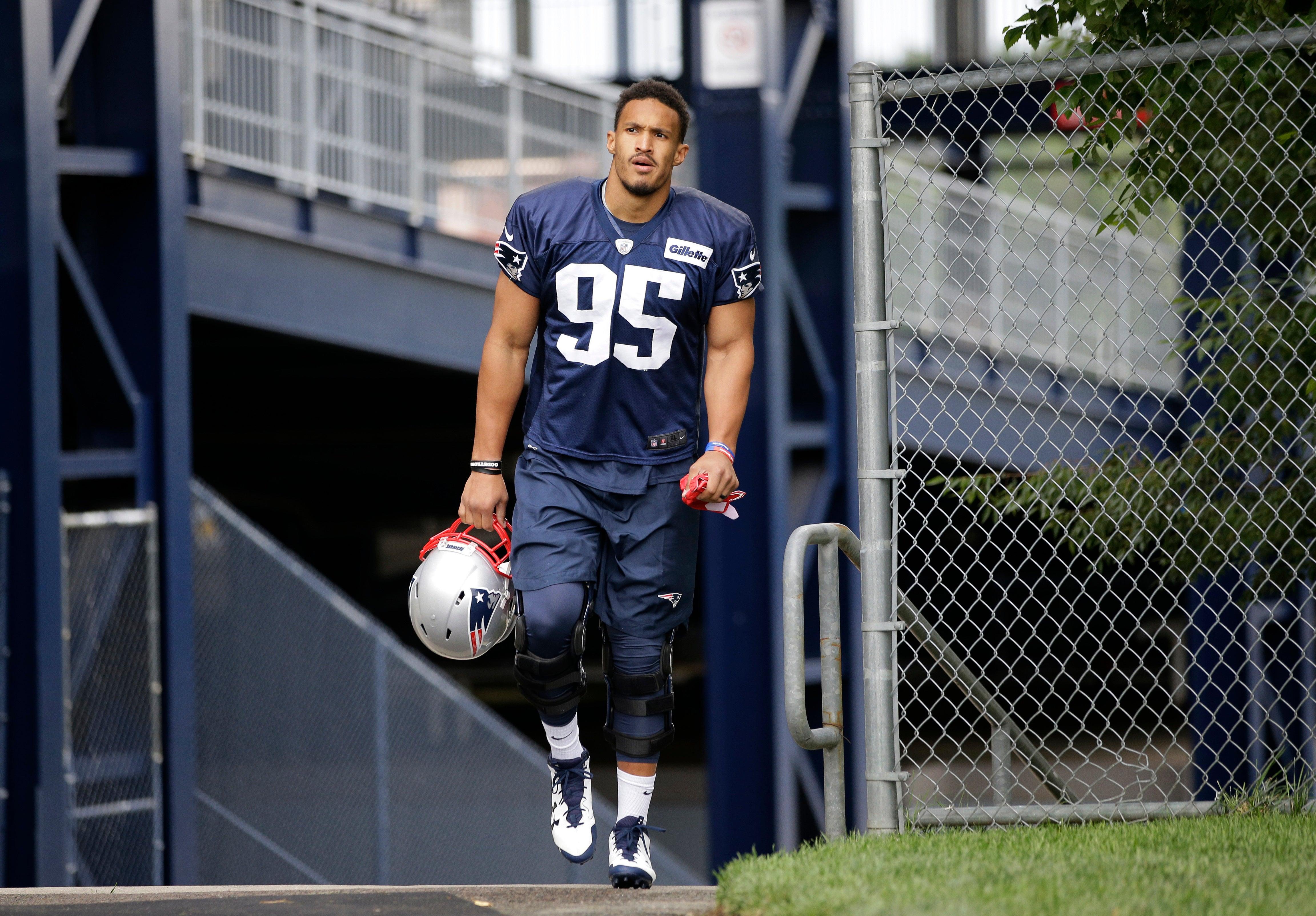 Patriots rookie Derek Rivers may have season-ending knee injury