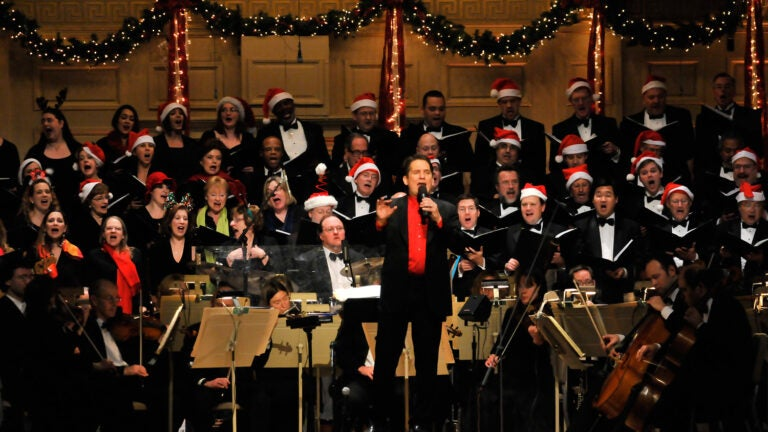 Holiday Pops Performance
