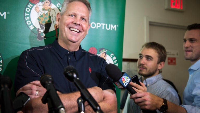 Danny Ainge Boston Celtics