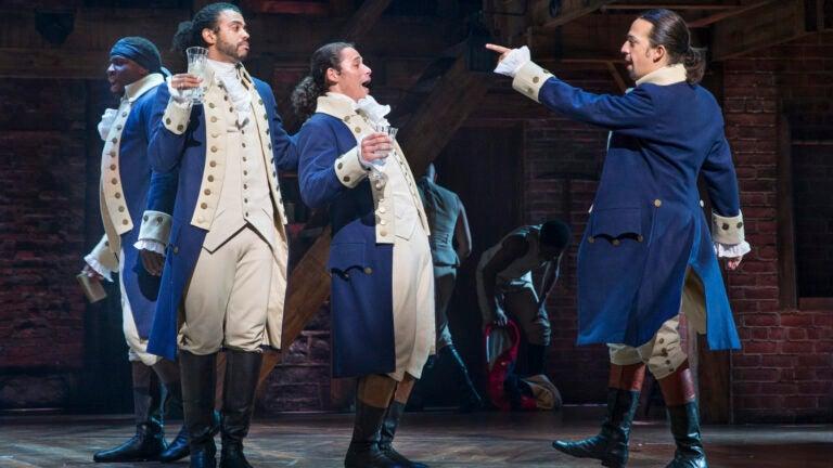 Hamilton Musical on Broadway