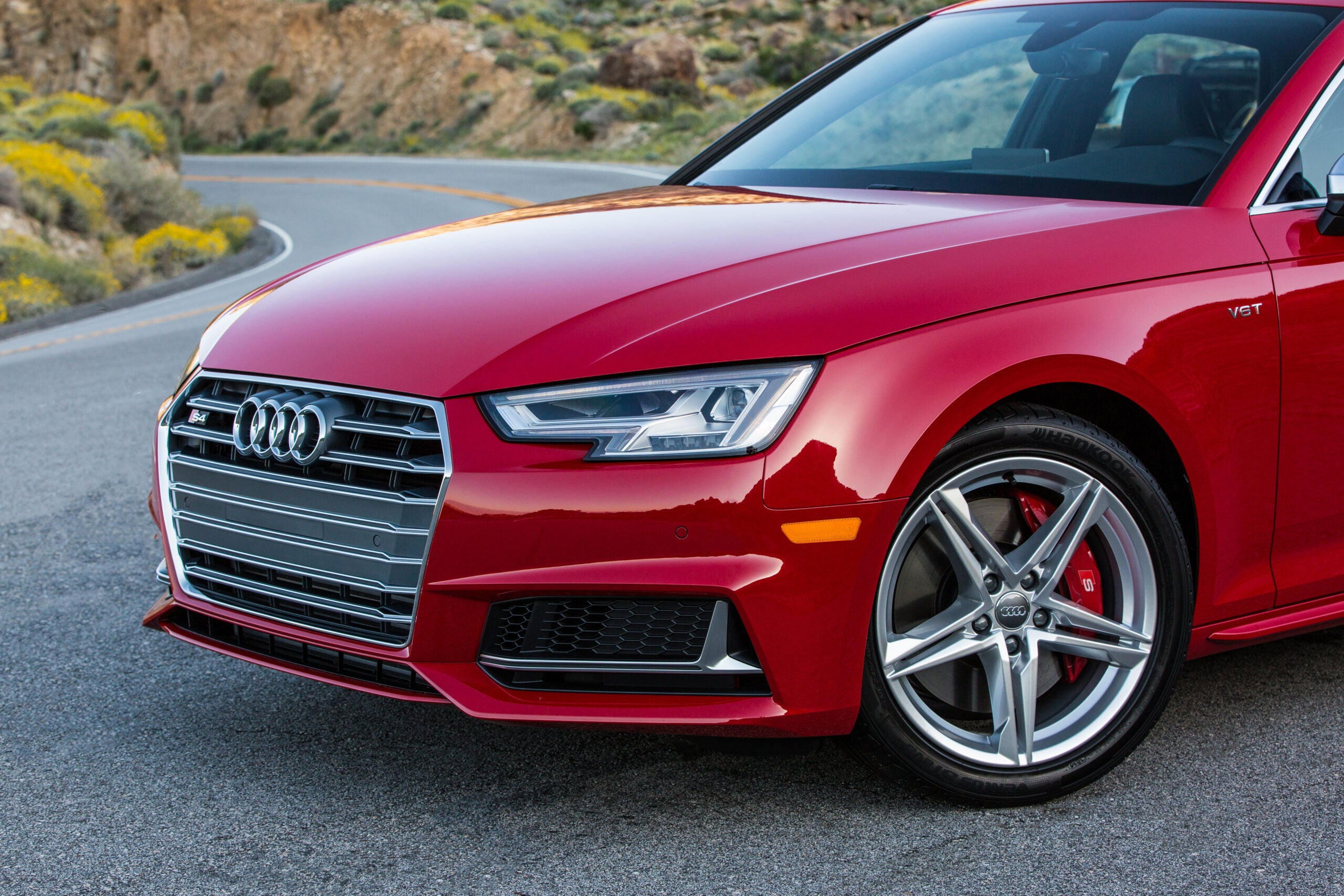 The 2018 Audi A4 S4.