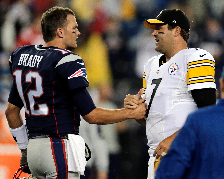 Tom Brady Ben Roethlistberger Patriots Steelers