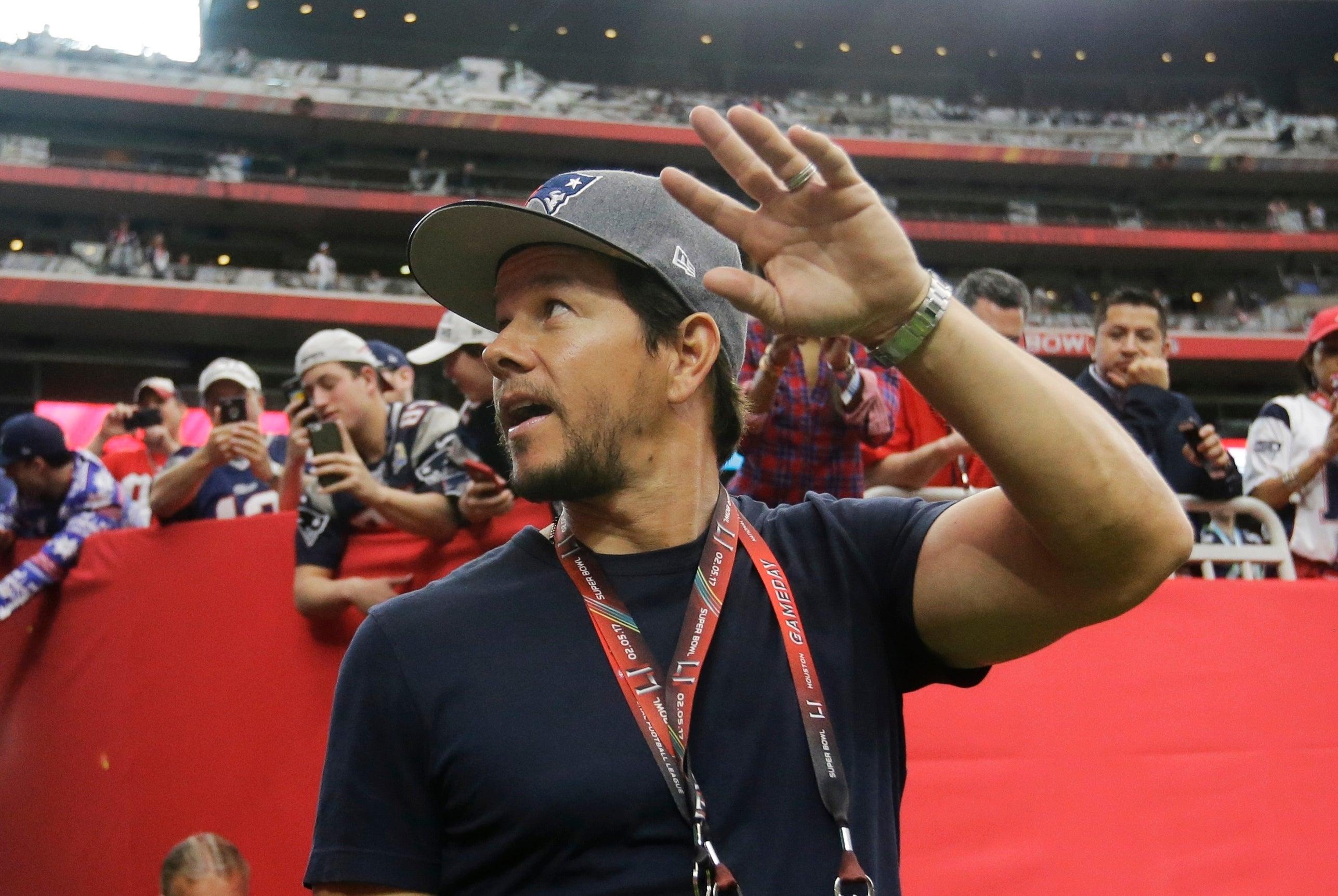 Mark Wahlberg Super Bowl LI
