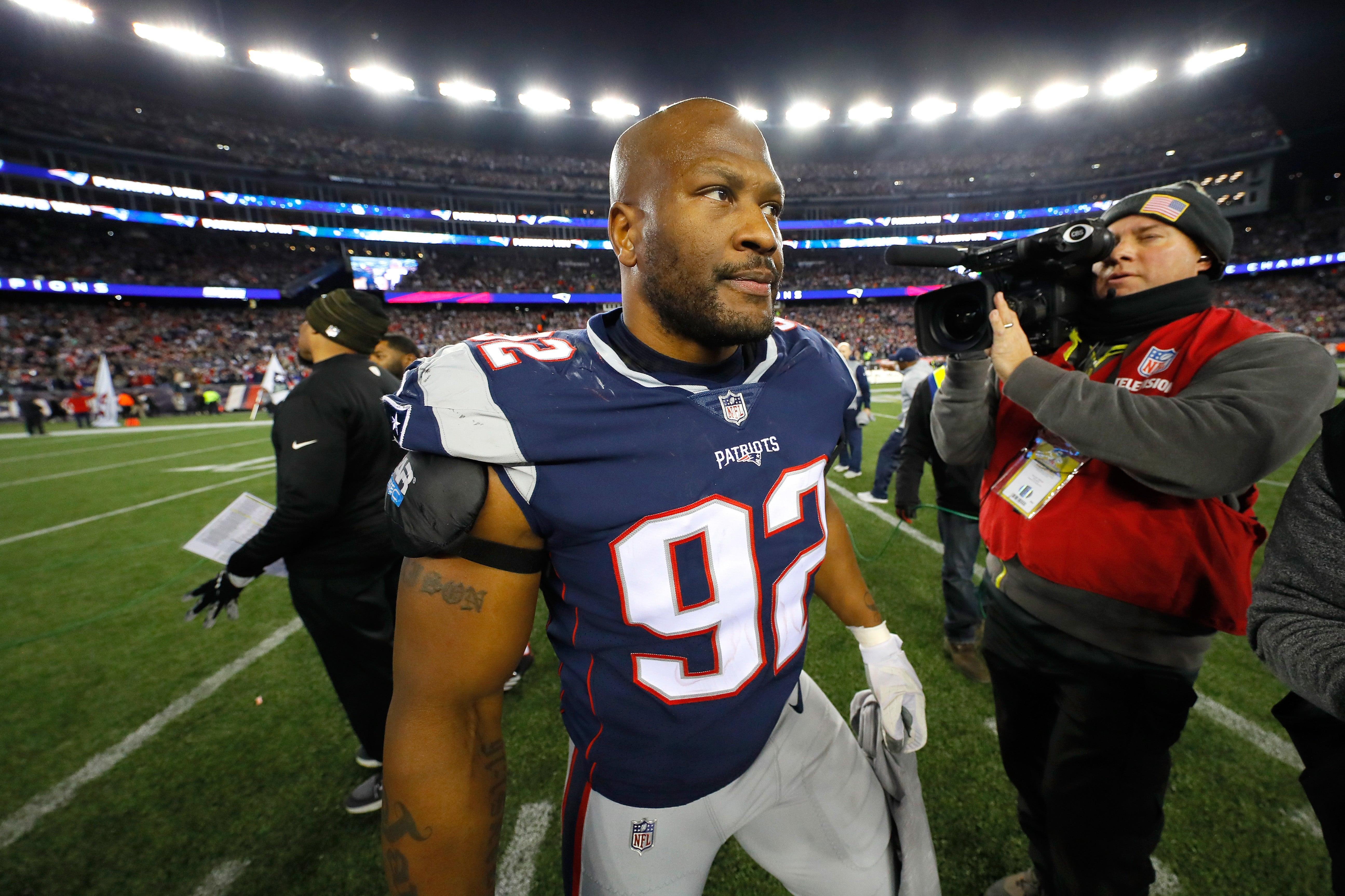 James Harrison New England Patriots