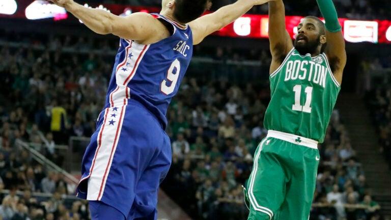 Kyrie Irving NBA London Boston Celtics