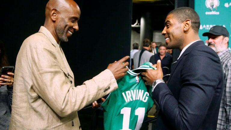 Kyrie Drederick Irving Boston Celtics