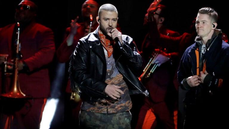 Justin Timberlake Super Bowl halftime
