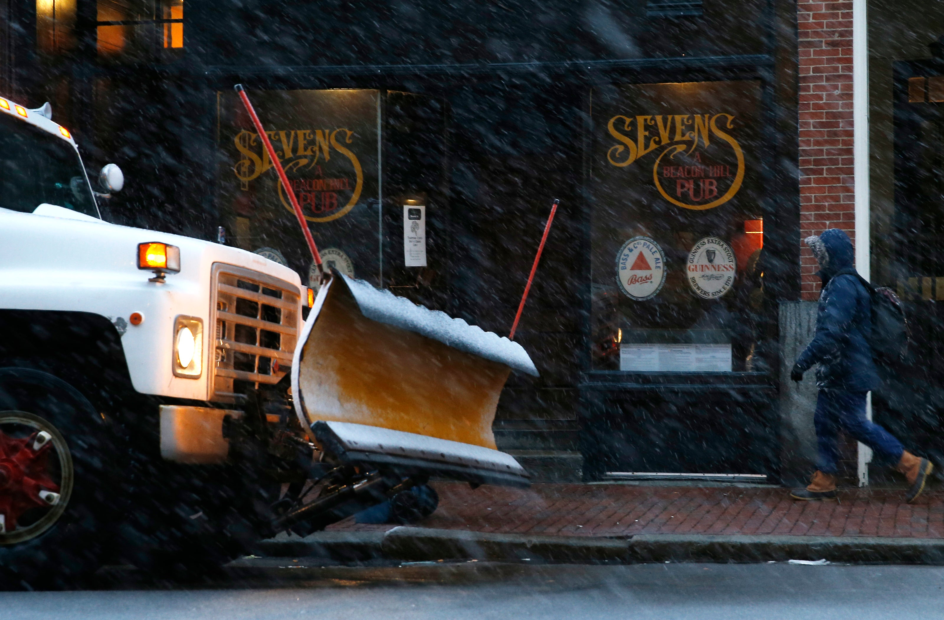 Snow Plow Boston