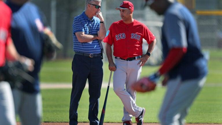 Dave Dombrowski Alex Cora Red Sox