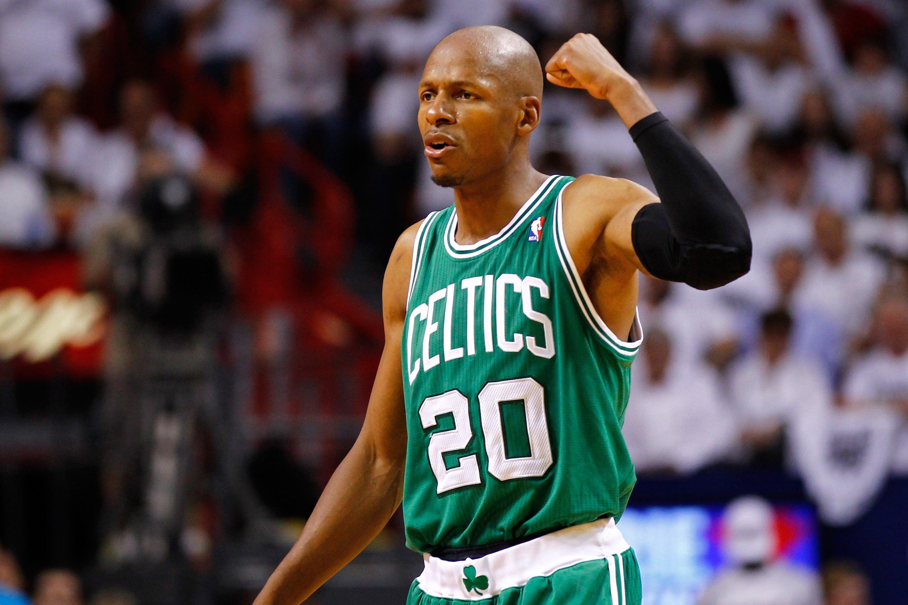 Ray Allen Boston Celtics