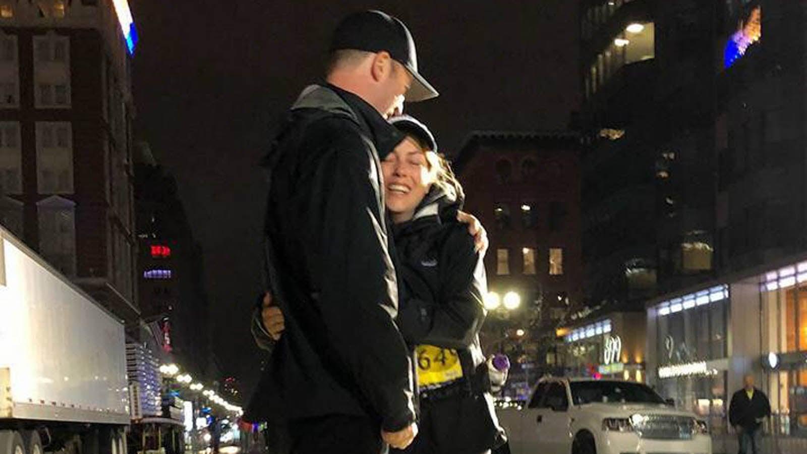 Mary Shertenlieb Completes Boston Maraton