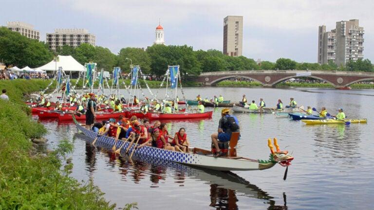 The Boston Dragon Boat Festival.