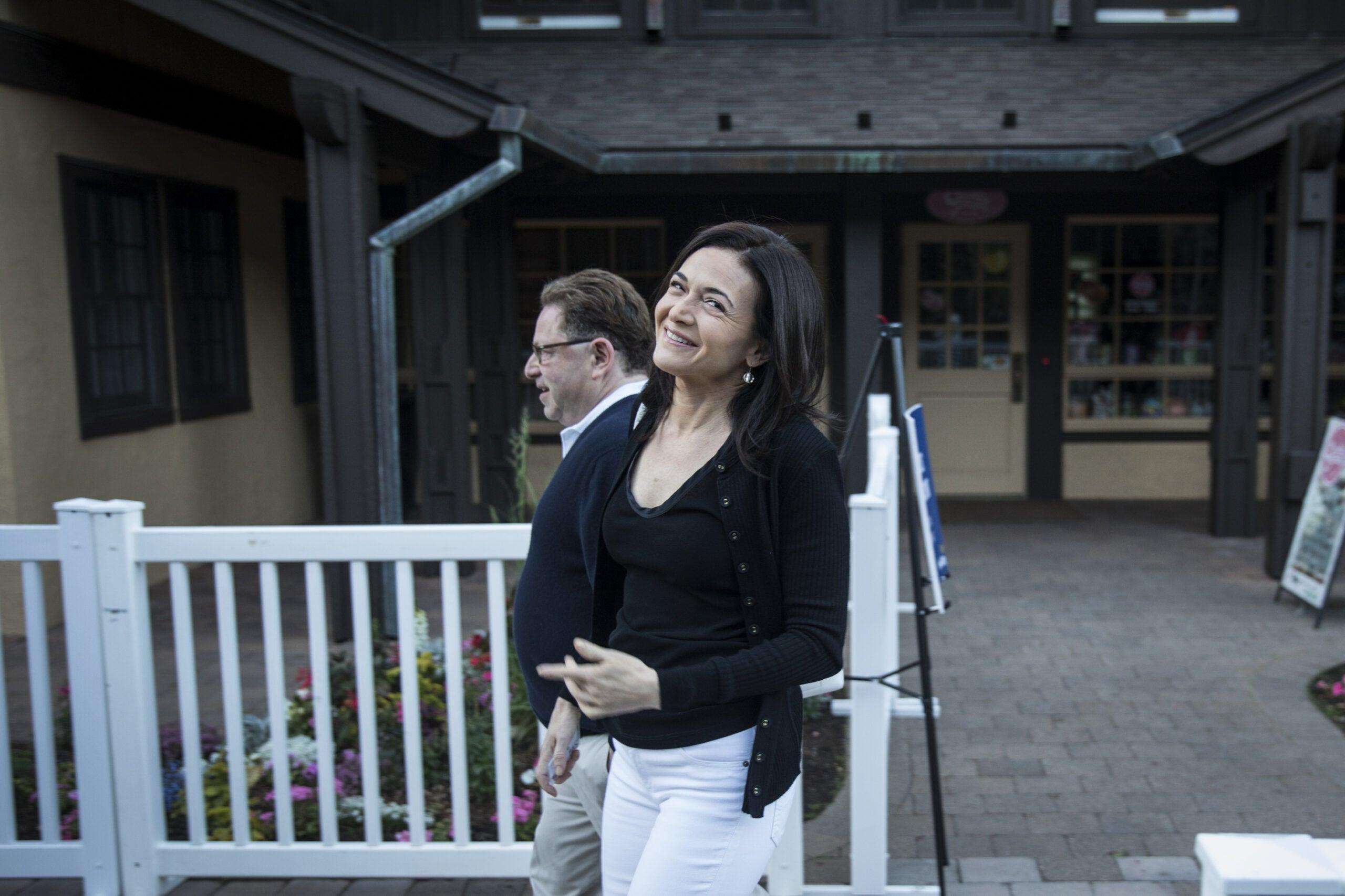 Bobby Kotick and Sheryl Sandberg Allen & Co Sun Valley Conference 2018