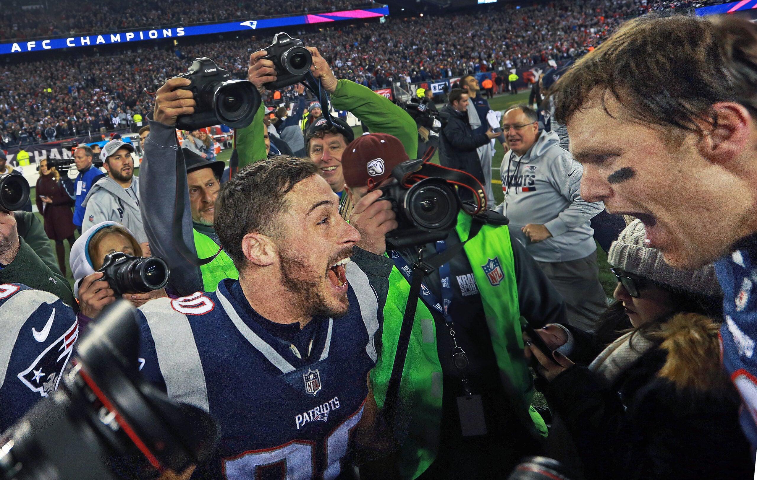 Danny Amendola Tom Brady Patriots