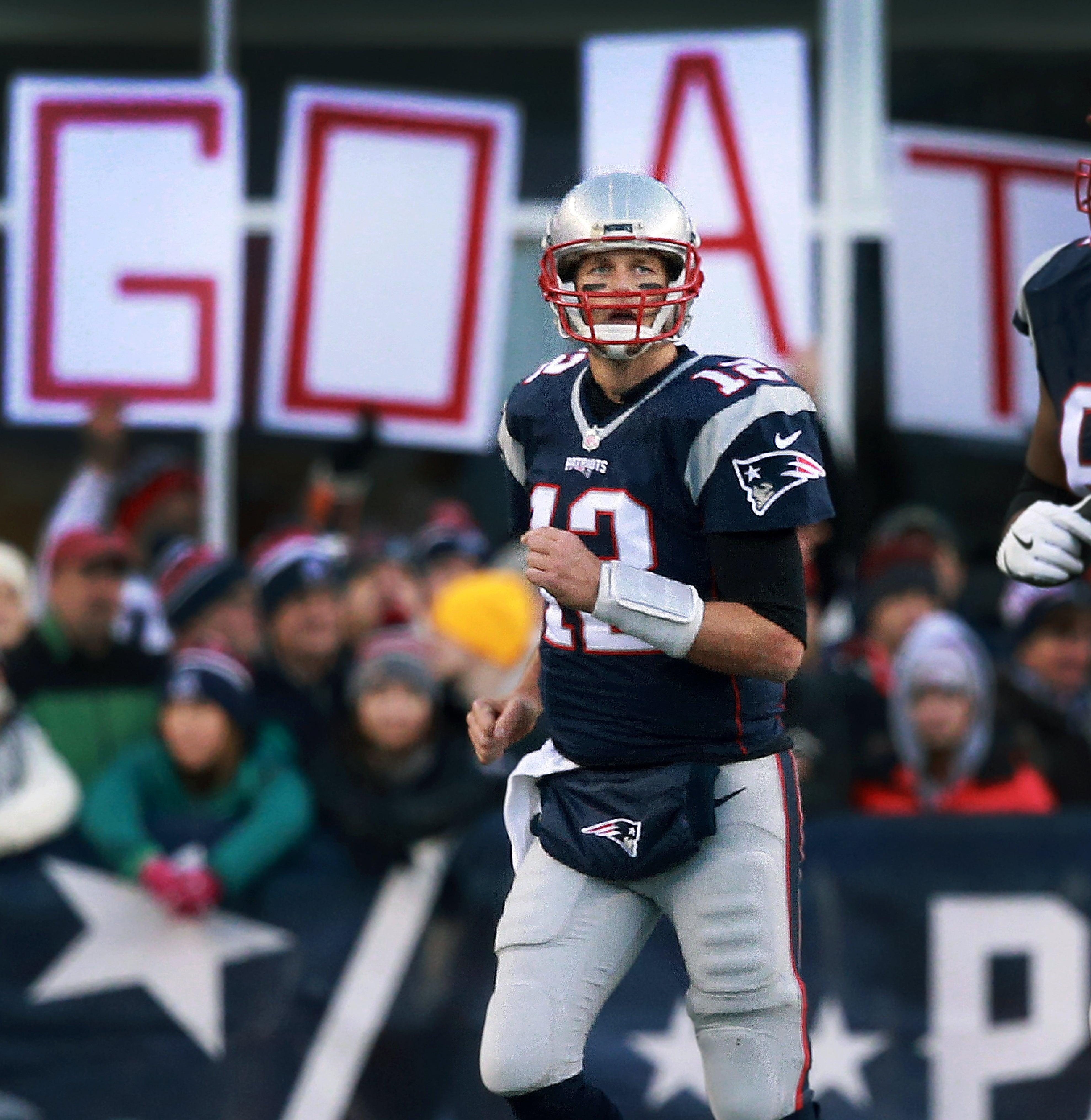 Tom Brady Patriots NFL GOAT