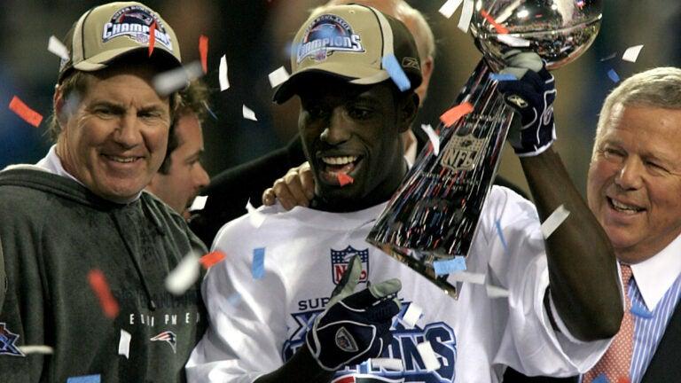 Deion Branch Super Bowl MVP