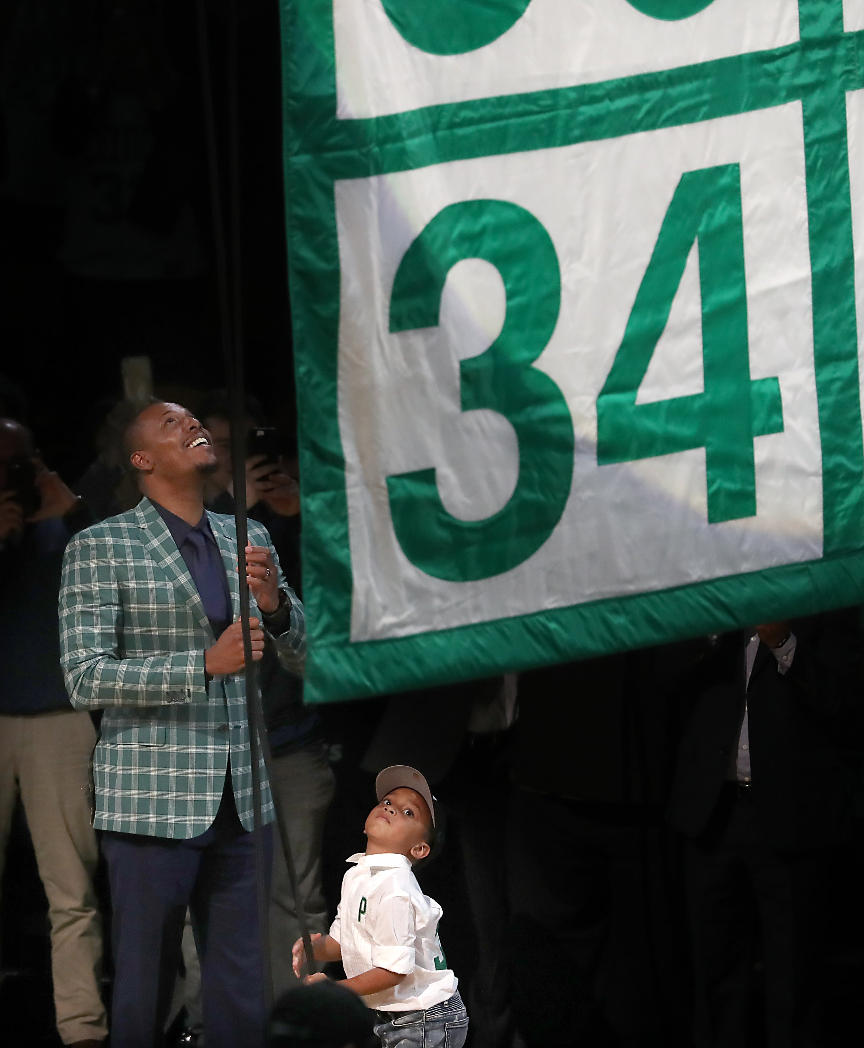 Paul Pierce Celtics Number Retirement