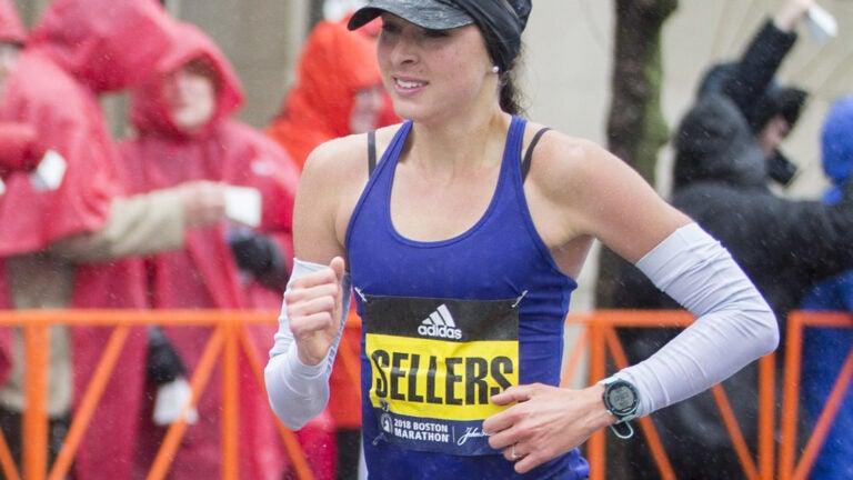 Sarah Sellers Boston Marathon
