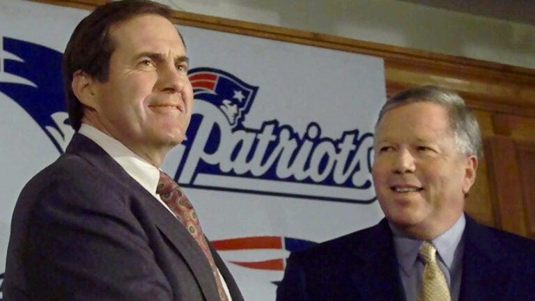 Bill Belichick Robert Kraft Patriots 2000