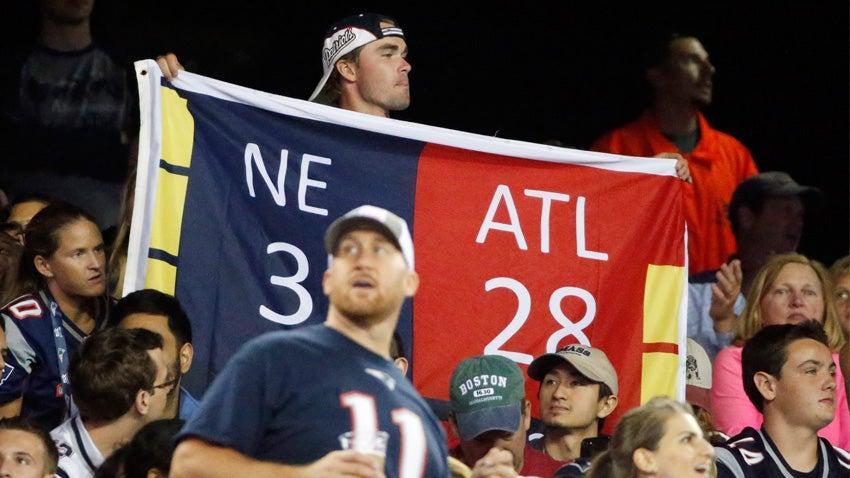 Patriots Falcons 28-3