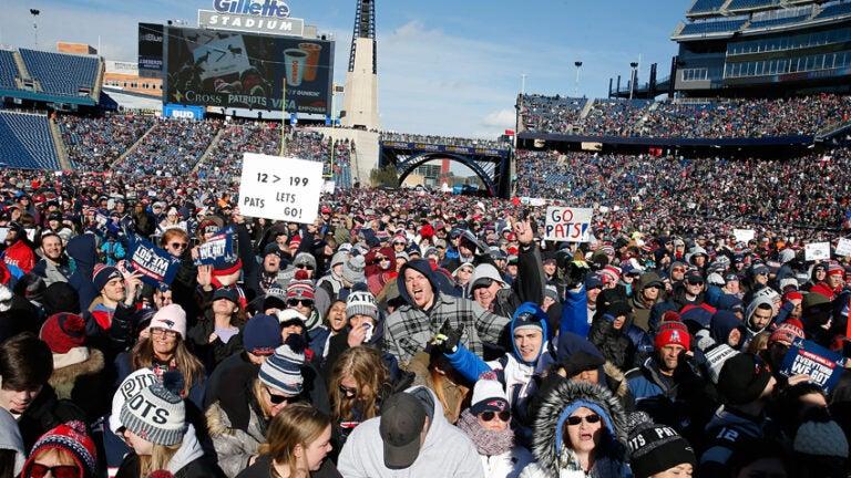 New England Patriots Super Bowl Rally 2019