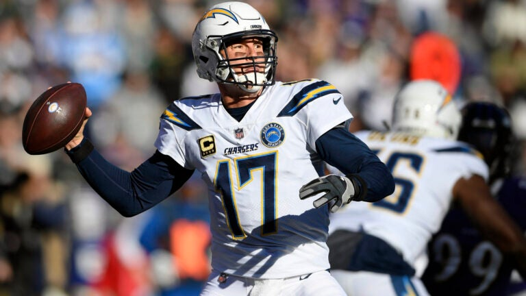 Philip Rivers throwing motion