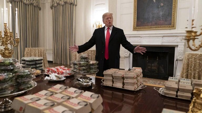 Donald Trump Clemson visit