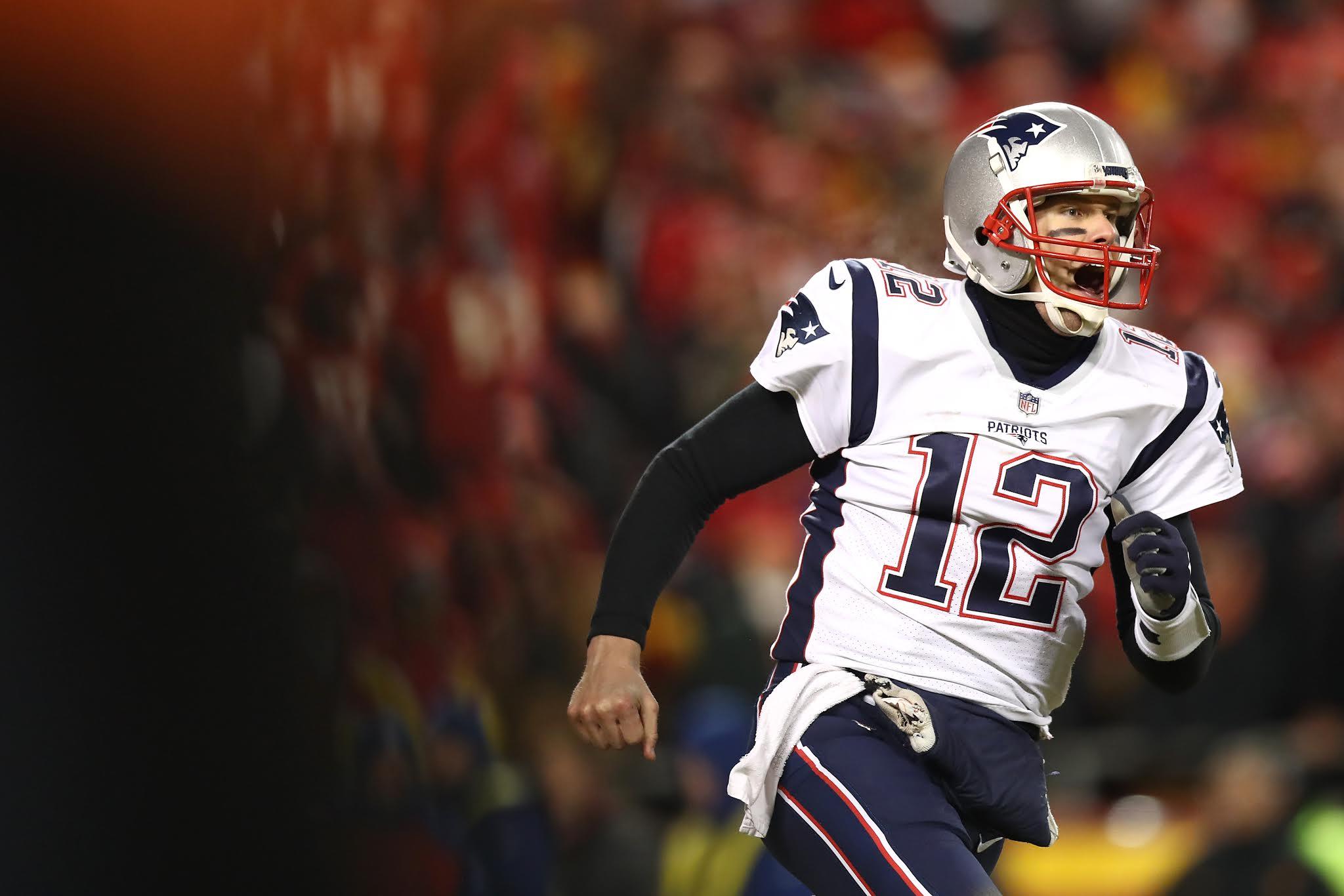 Tom Brady Patriots NFL Playoffs