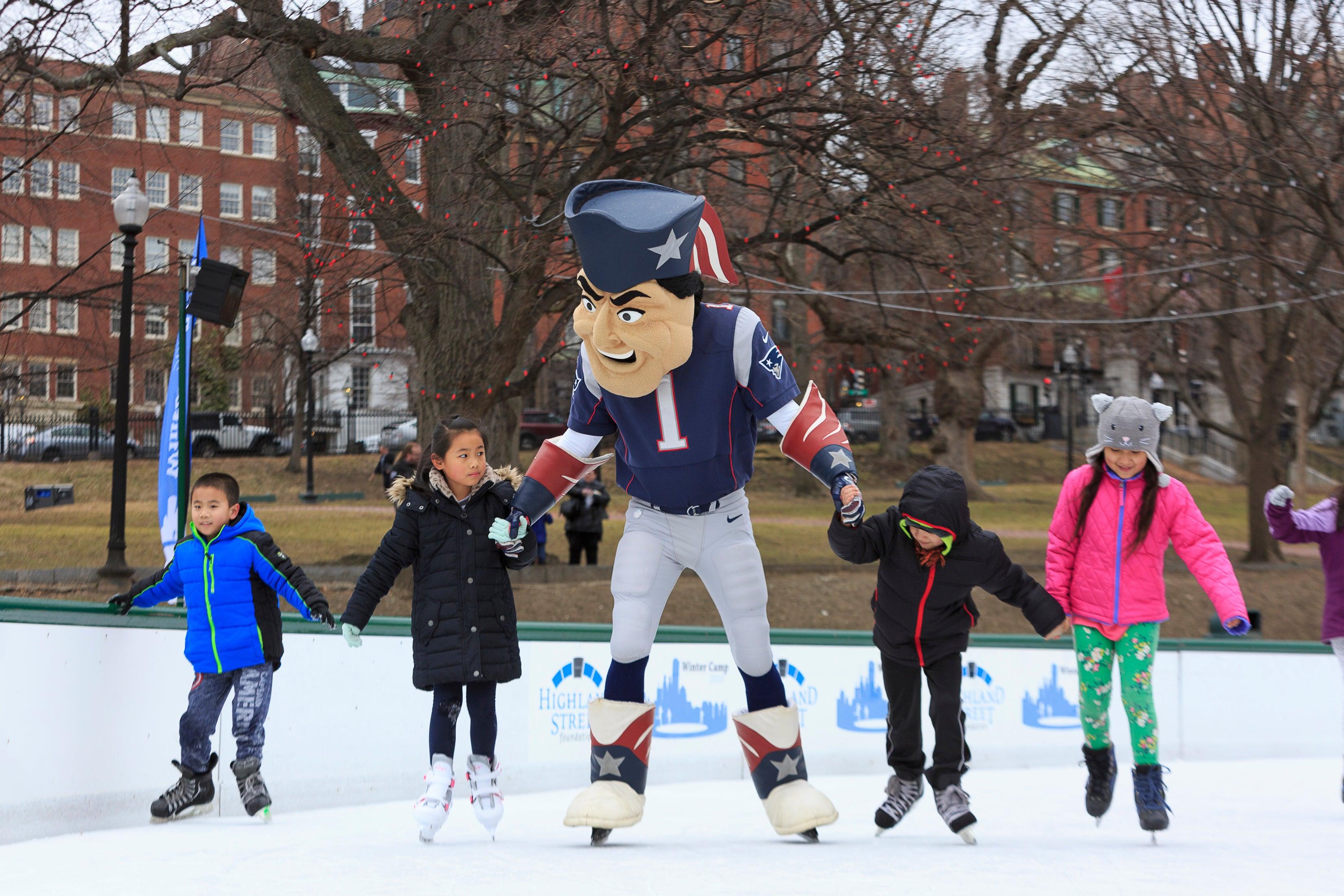 Children's Winter Festival on the Boston Common