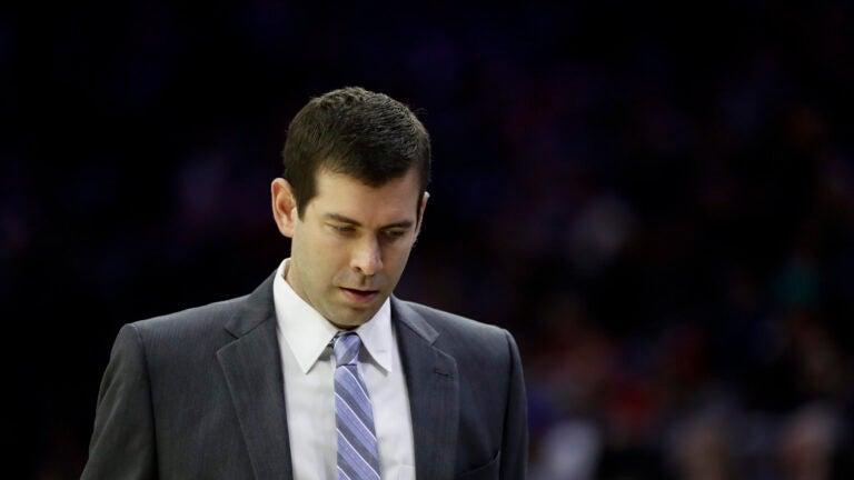 Celtics Brad Stevens NBA Coach